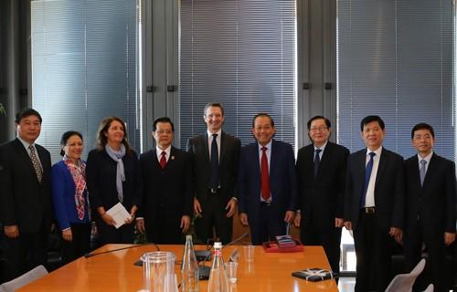 Phó Thủ tướng làm việc tại Hội đồng Tư pháp quốc gia Italy - ảnh 2