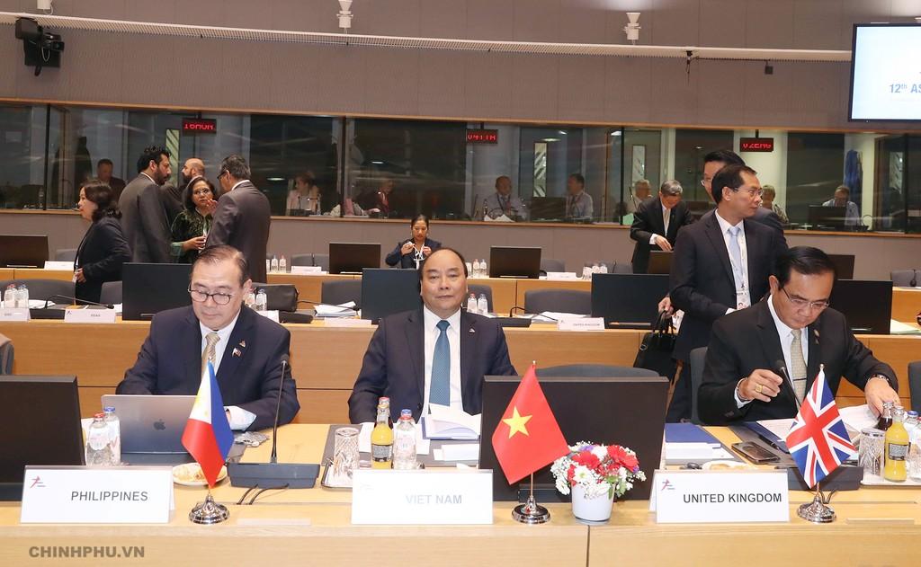 Thủ tướng: Hợp tác của ASEM cần có thêm nội hàm về ASEAN - ảnh 1
