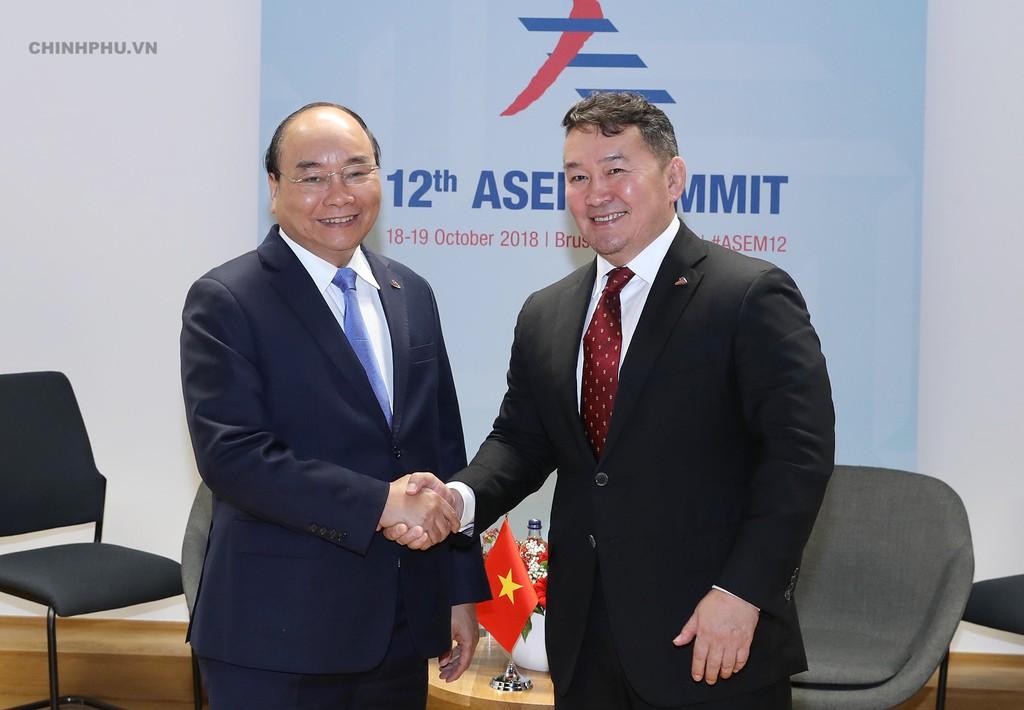 Thủ tướng tiếp xúc song phương nhiều lãnh đạo thế giới bên lề ASEM - ảnh 3