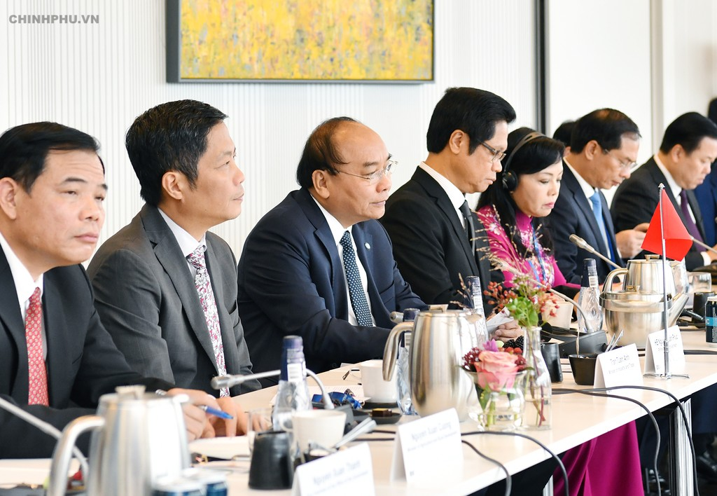 Thủ tướng đối thoại với các doanh nghiệp hàng đầu Đan Mạch - ảnh 1
