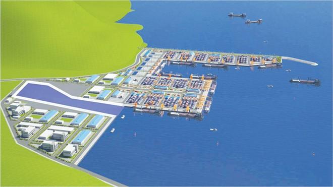 Phối cảnh cảng nước sâu Liên Chiểu. Ảnh minh họa: Internet