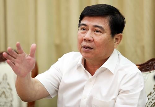 Ông Nguyễn Thành Phong tại cuộc họp ngày 1/11