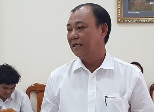 Ông Lê Tấn Hùng bị cảnh cáo - ảnh 2