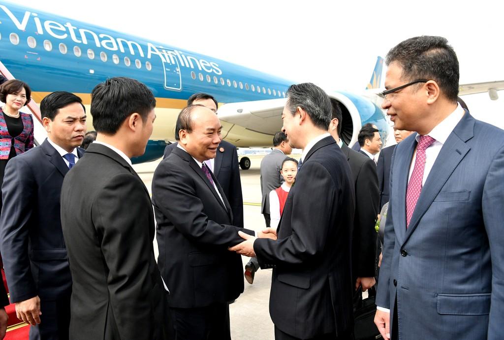 CHÙM ẢNH: Hoạt động của Thủ tướng tại Trung Quốc - ảnh 2