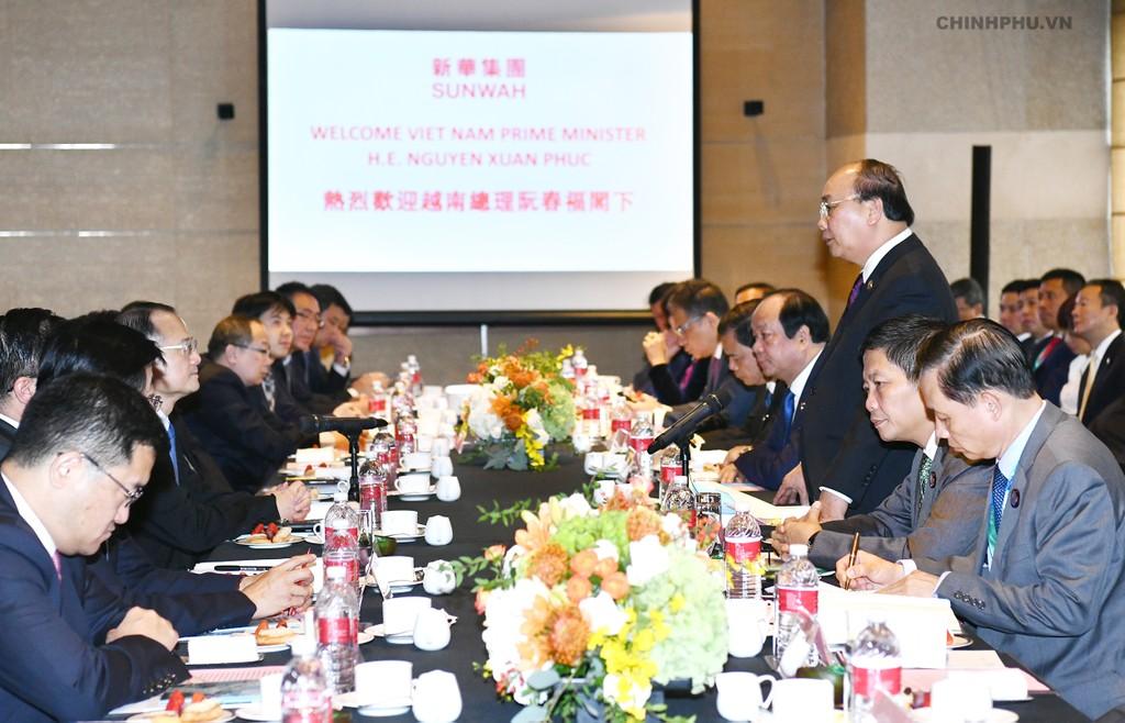 CHÙM ẢNH: Hoạt động của Thủ tướng tại Trung Quốc - ảnh 5