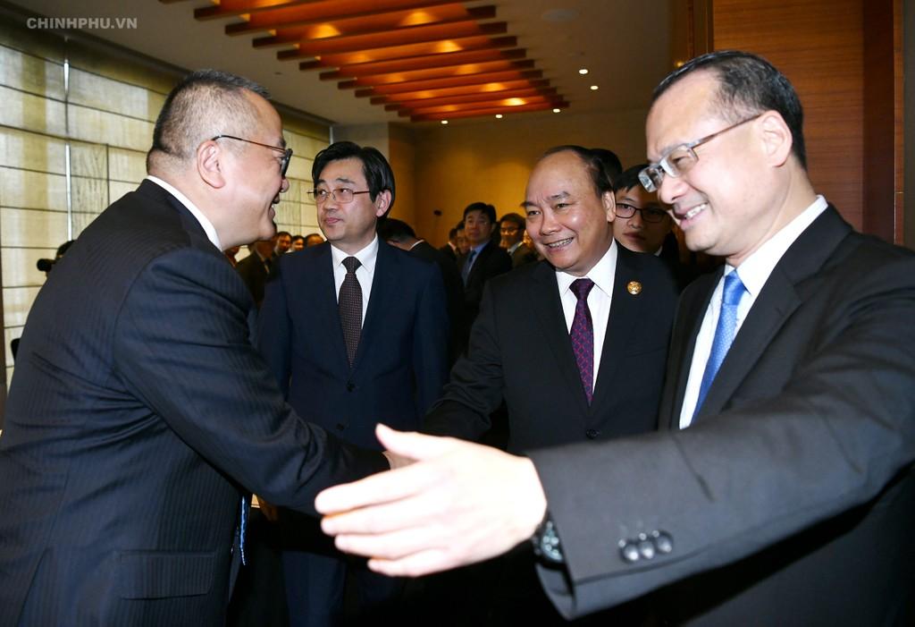 CHÙM ẢNH: Hoạt động của Thủ tướng tại Trung Quốc - ảnh 6