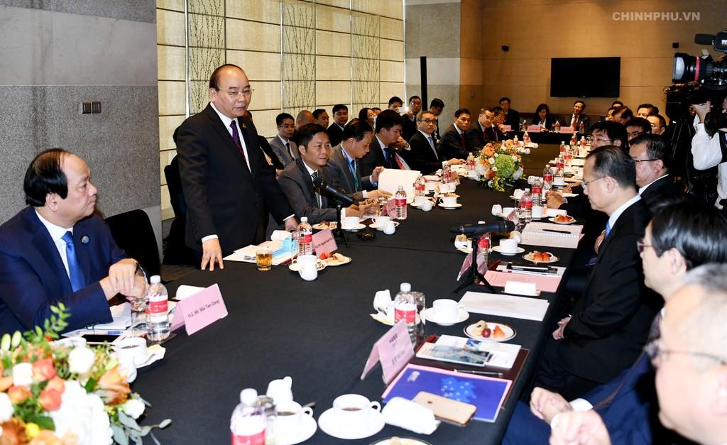 CHÙM ẢNH: Hoạt động của Thủ tướng tại Trung Quốc - ảnh 7