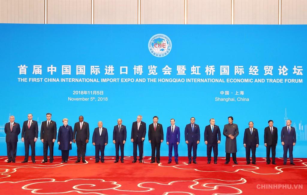 Thủ tướng dự Lễ khai mạc Hội chợ CIIE và Diễn đàn kinh tế thương mại quốc tế Hồng Kiều - ảnh 2