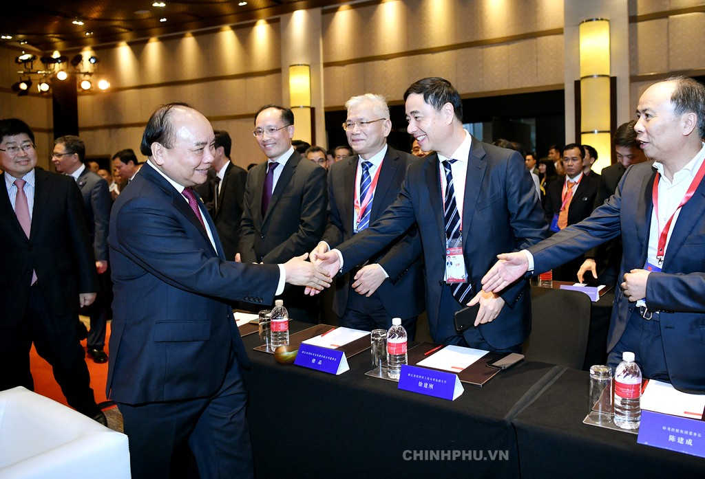 Thủ tướng dự khai trương Văn phòng xúc tiến thương mại thứ 2 của Việt Nam tại Trung Quốc - ảnh 2