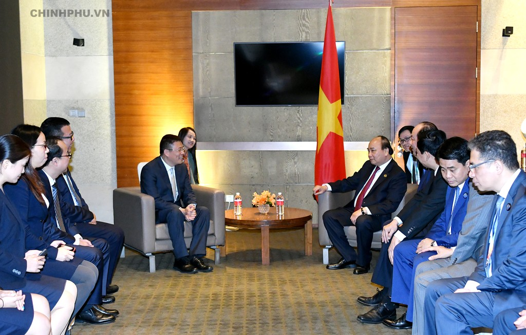Thủ tướng dự khai trương Văn phòng xúc tiến thương mại thứ 2 của Việt Nam tại Trung Quốc - ảnh 6