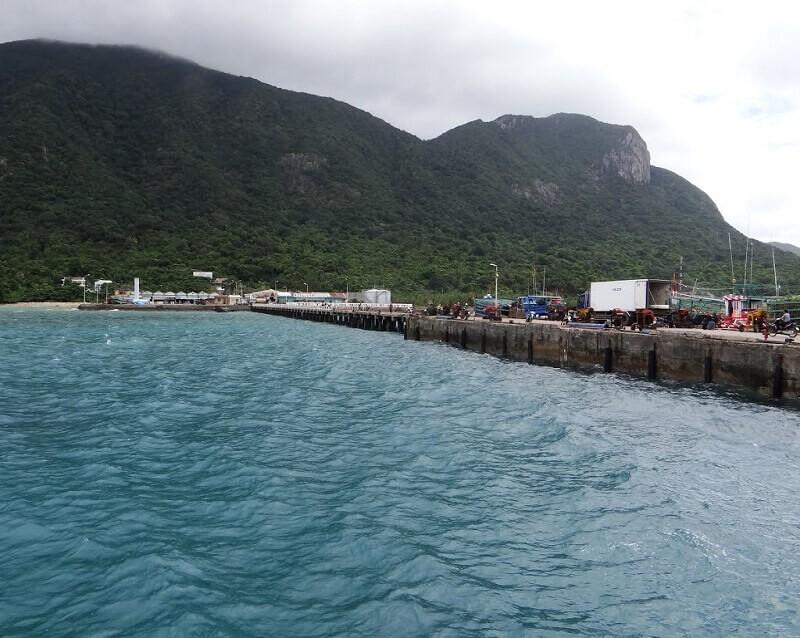 Cảng Bến Đầm huyện Côn Đảo. Ảnh minh họa: Internet