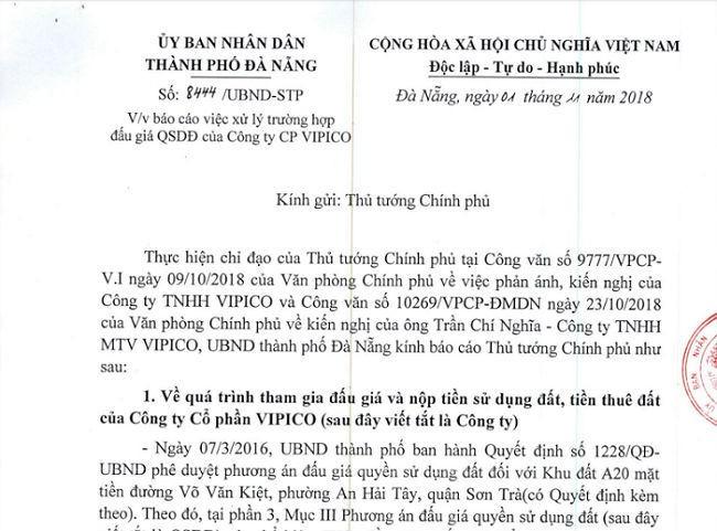 Đà Nẵng: Báo cáo Thủ tướng vụ trúng đấu giá 650 tỷ không được nhận đất - ảnh 1
