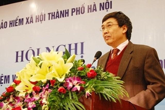 Ông Lê Bạch Hồng, nguyên Tổng Giám đốc BHXH Việt Nam. Ảnh Internet