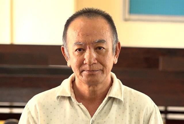 Bị cáo Hà Thanh Tuấn tại tòa