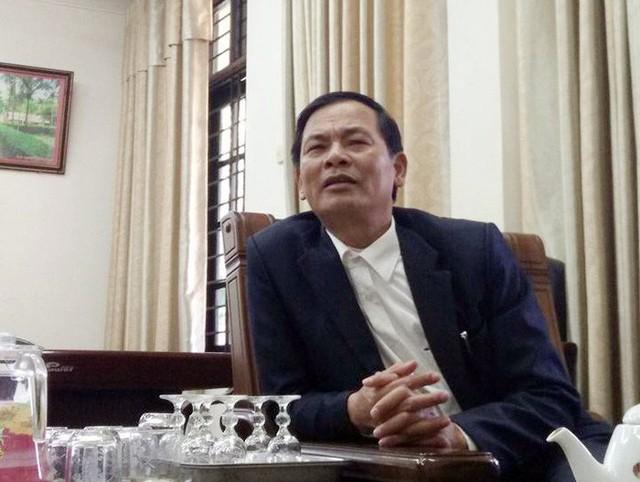 Ông Lê Văn Ngữ, nguyên là Chủ tịch UBND xã Đông Lĩnh vừa bị bắt tạm giam để điều tra việc lập hồ sơ khống.