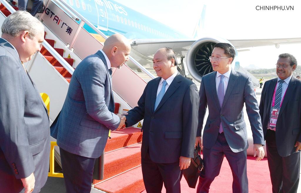Thủ tướng đến Papua New Guinea, bắt đầu chuyến tham dự Hội nghị APEC 26 - ảnh 1