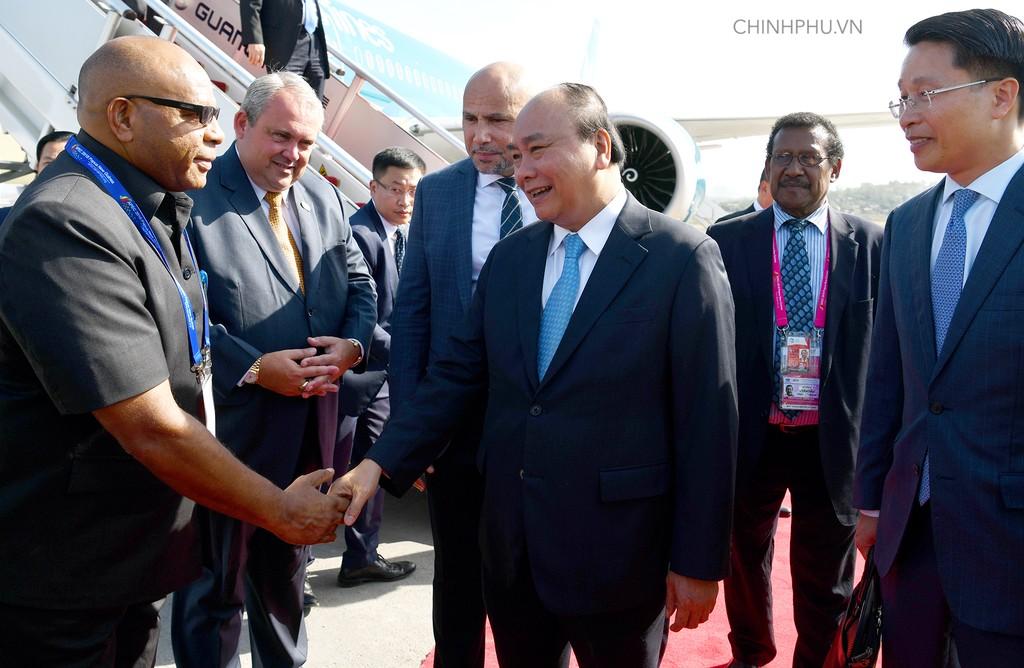 Thủ tướng đến Papua New Guinea, bắt đầu chuyến tham dự Hội nghị APEC 26 - ảnh 2
