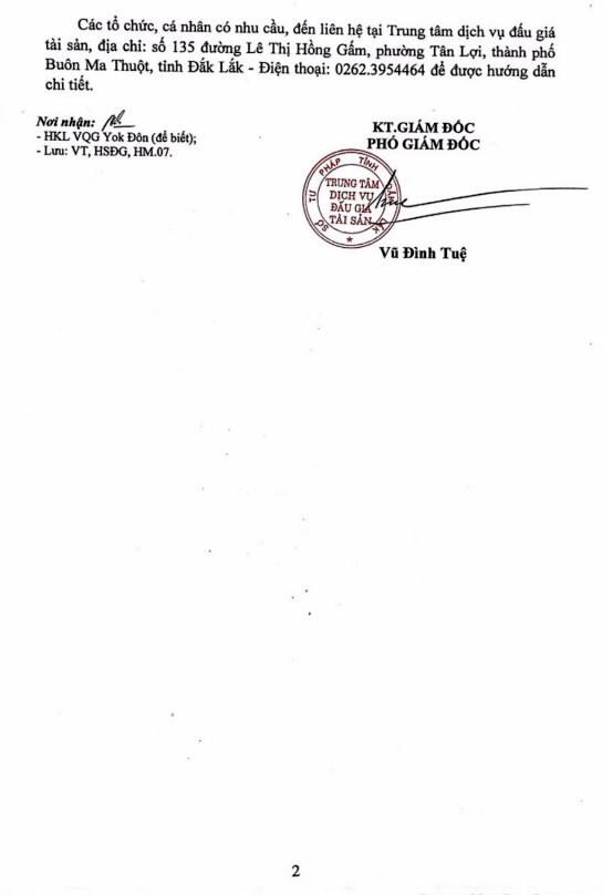 Ngày 26/11/2018, đấu giá 70,034m3 gỗ các loại từ nhóm IIA đến nhóm VIII tại tỉnh Đắk Lắk - ảnh 2