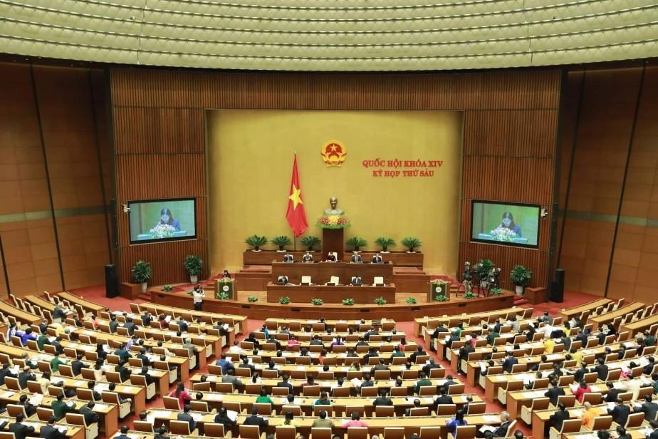 Quốc hội họp phiên bế mạc kỳ họp thứ 6 - ảnh 1