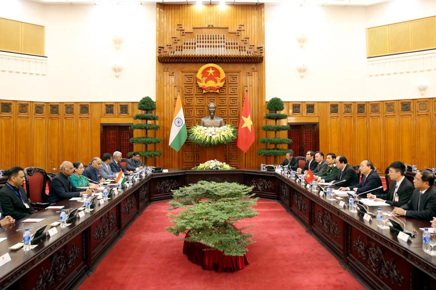 Việt Nam, Ấn Độ nhất trí tăng cường hợp tác dầu khí - ảnh 1