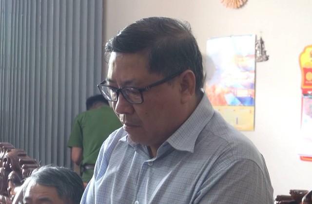 Ông Nguyễn Tài, nguyên Chủ tịch UBND huyện Đông Hòa