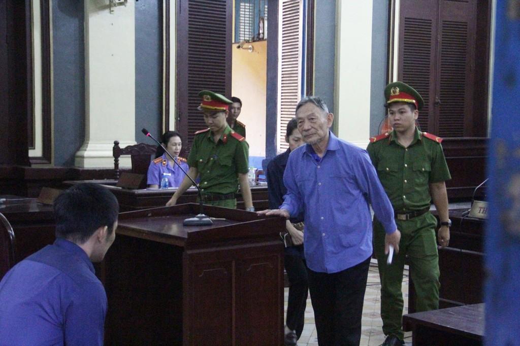 Bị cáo Ngọc lãnh 16 năm tù.