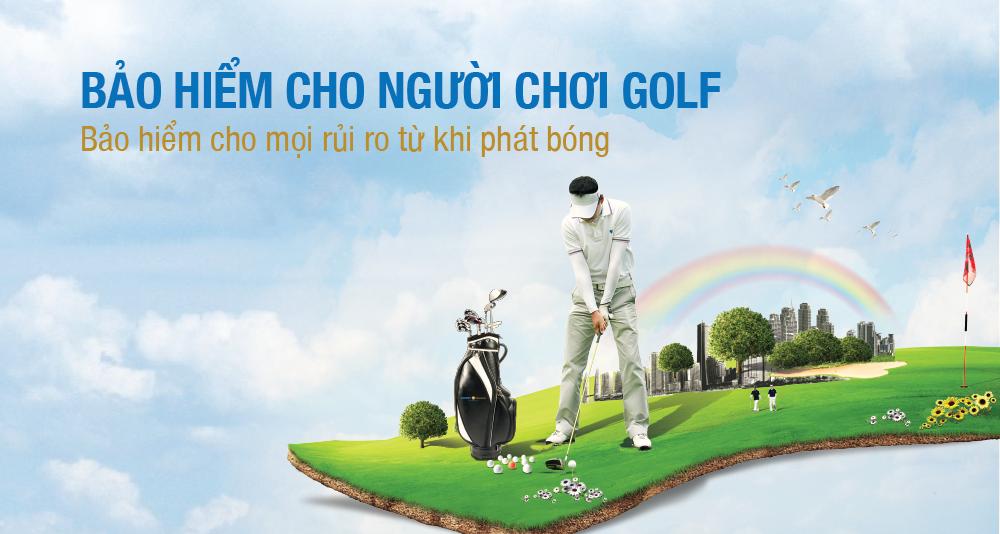 Bảo hiểm 2 tỷ đồng dành cho người chơi Golf kể từ khi phát bóng - ảnh 1