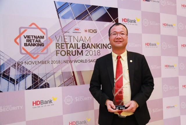 HDBank đạt giải ngân hàng bán lẻ tiêu biểu năm 2018 - ảnh 3