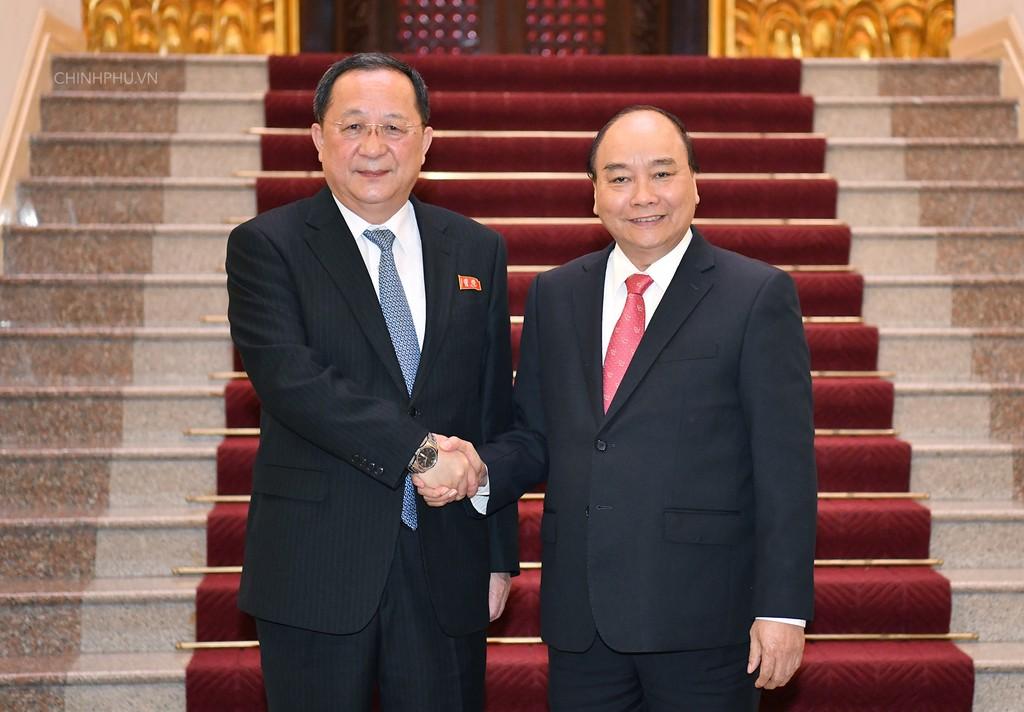 Thủ tướng tiếp Bộ trưởng Ngoại giao Triều Tiên - ảnh 1