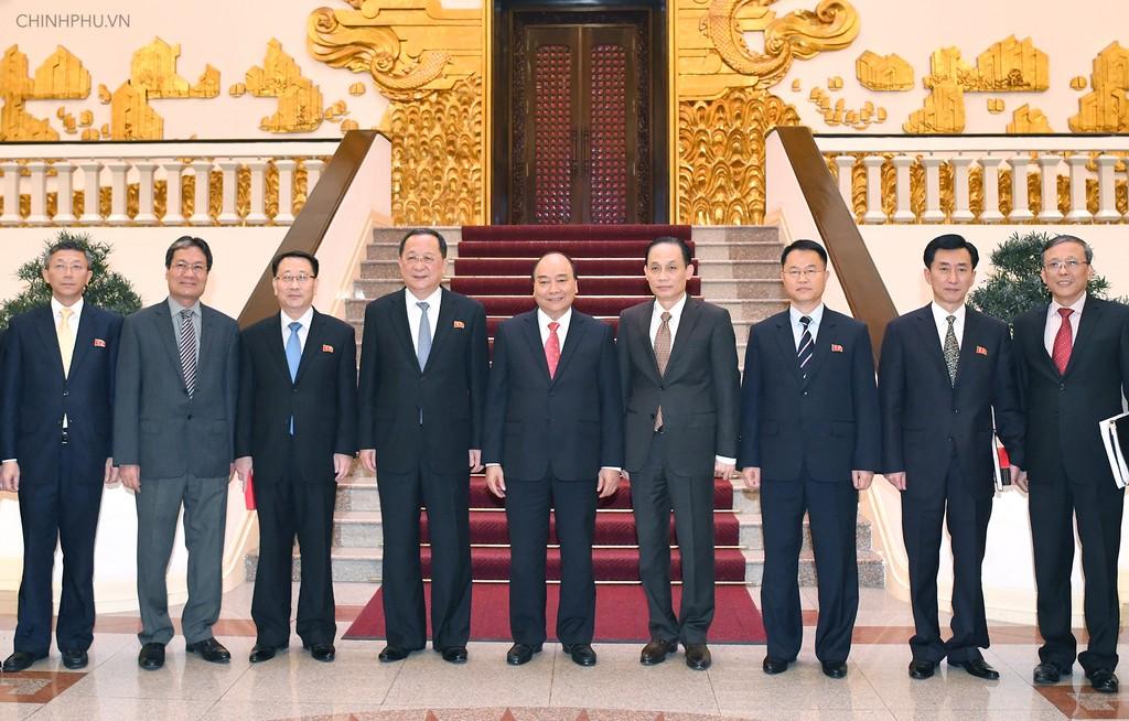Thủ tướng tiếp Bộ trưởng Ngoại giao Triều Tiên - ảnh 2