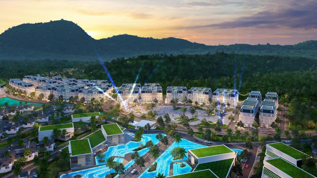 Bãi Kem – nơi JW Marriott Phu Quoc Emerald Bay tọa lạc cũng là nơi hội tụ những kiệt tác nghỉ dưỡng cùng do chủ đầu tư Sun Group kiến tạo
