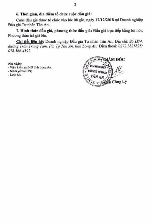 Ngày 17/12/2018, đấu giá xe ô tô Toyota tại tỉnh Long An - ảnh 2
