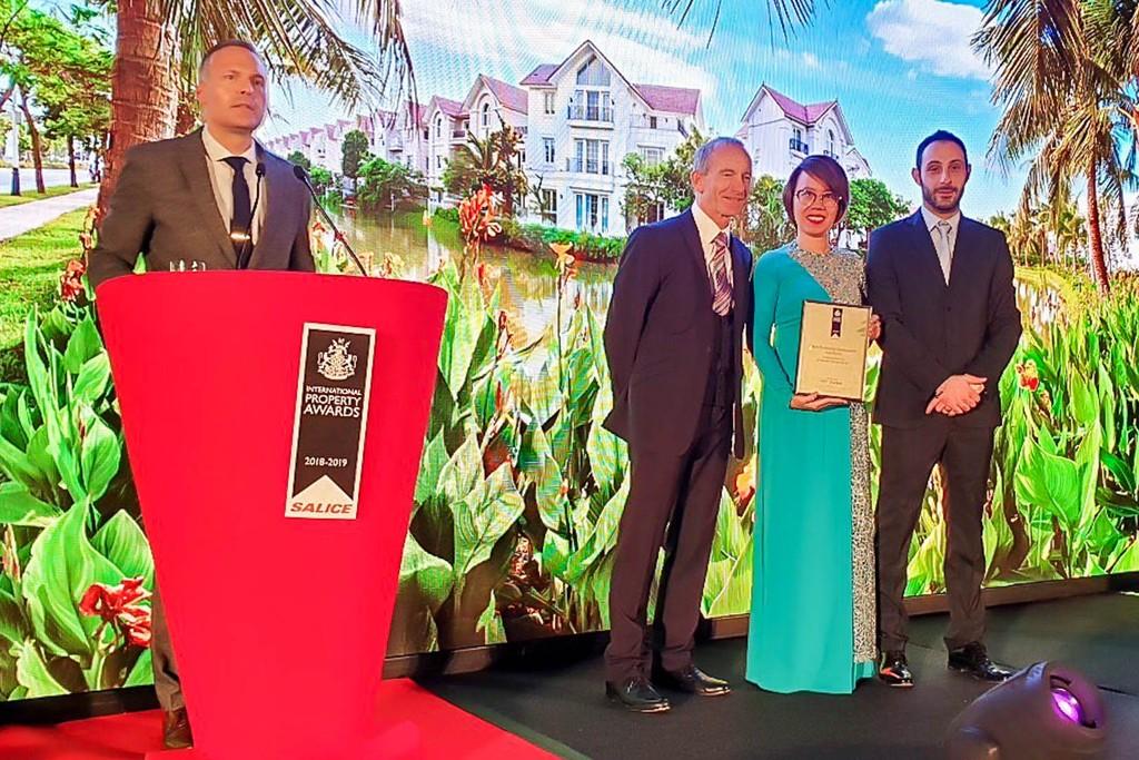 """Vinhomes Riverside được vinh danh là """"Bất động sản tốt nhất thế giới"""" năm 2018 - ảnh 1"""