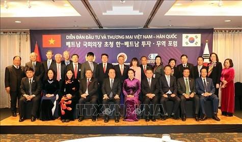 Chủ tịch Quốc hội dự Diễn đàn Đầu tư và Thương mại Việt Nam-Hàn Quốc - ảnh 2