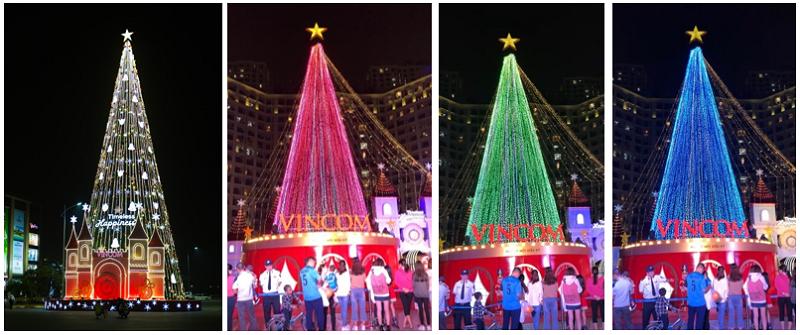 61 trung tâm thương mại Vincom rực rỡ đón Giáng sinh sớm - ảnh 1