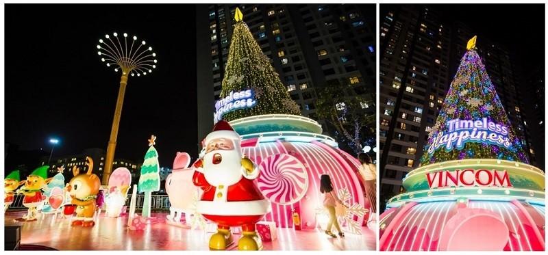 61 trung tâm thương mại Vincom rực rỡ đón Giáng sinh sớm - ảnh 2