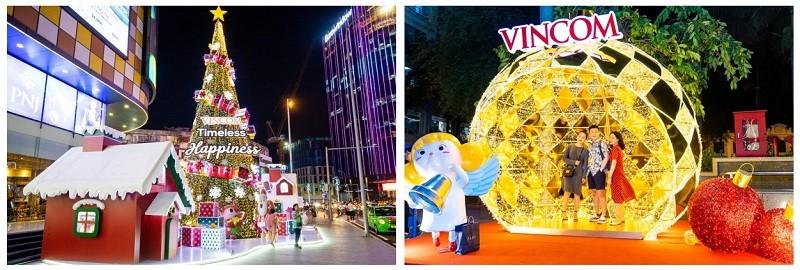 61 trung tâm thương mại Vincom rực rỡ đón Giáng sinh sớm - ảnh 3