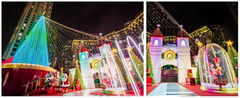 61 trung tâm thương mại Vincom rực rỡ đón Giáng sinh sớm - ảnh 4