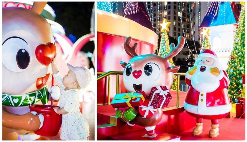 61 trung tâm thương mại Vincom rực rỡ đón Giáng sinh sớm - ảnh 5