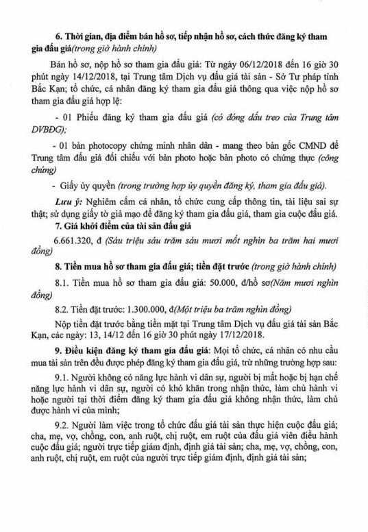 Ngày 18/12/2018, đấu giá gỗ xẻ, tròn tại tỉnh Bắc Kạn - ảnh 2