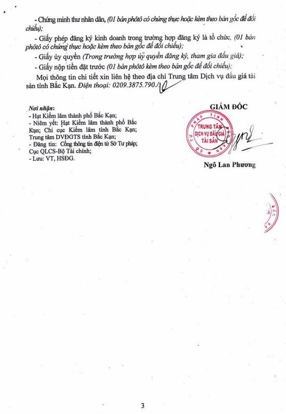 Ngày 17/12/2018, đấu giá gỗ tròn tại tỉnh Bắc Kạn - ảnh 3