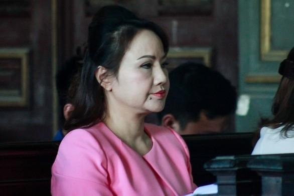Bà Chu Thị Bình tại phiên xử sơ thẩm.