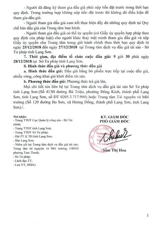 Ngày 28/12/2018, đấu giá quyền sử dụng đất tại thành phố Lạng Sơn, tỉnh Lạng Sơn - ảnh 3