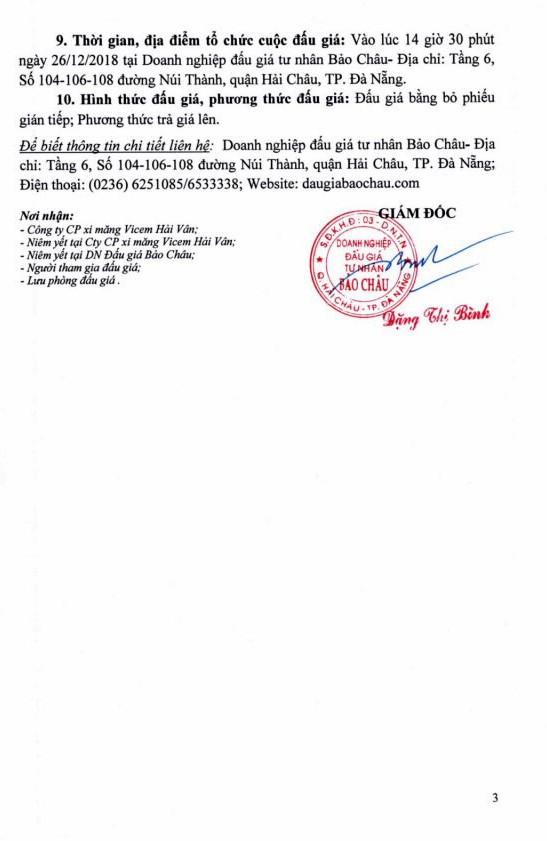 Ngày 26/12/2018, đấu giá xe ô tô BMW tại thành phố Đà Nẵng - ảnh 3