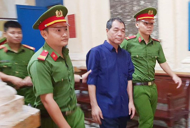 Trầm Bê bị dẫn giải tại phiên tòa