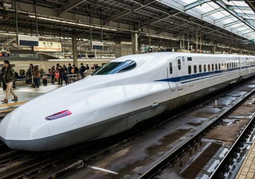 Tàu Shinkansen ở Nhật Bản. Ảnh: Japan railway.