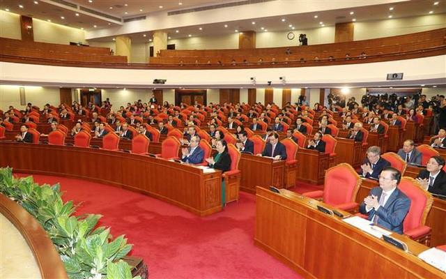 Hội nghị TƯ 9 khóa XII: Lấy phiếu tín nhiệm các Ủy viên Bộ Chính trị, Ban Bí thư - ảnh 1