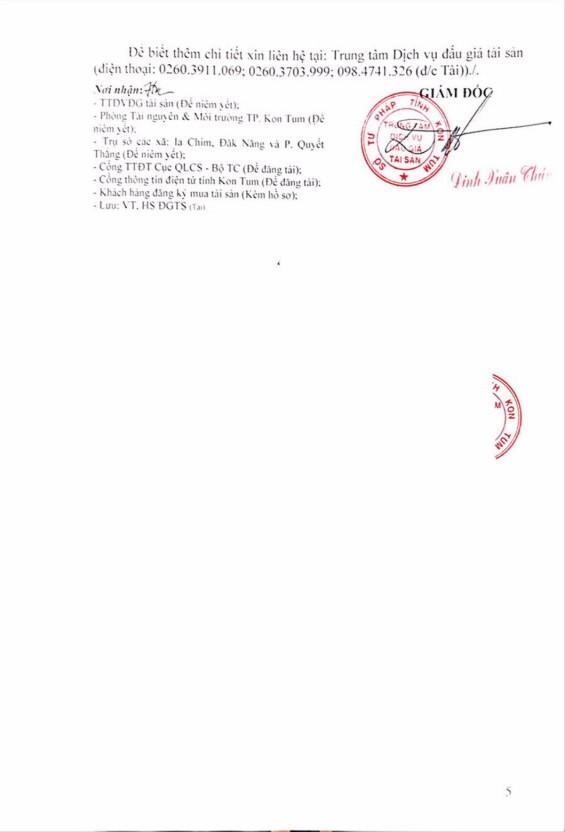 Ngày 17/01/2019, đấu giá quyền sử dụng 98 thửa đất tại thành phố Kon Tum, tỉnh Kon Tum - ảnh 5