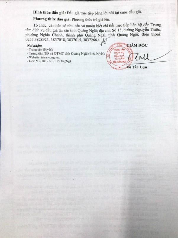 Ngày 7/01/2019, đấu giá xe ô tô tại tỉnh Quảng Ngãi - ảnh 2