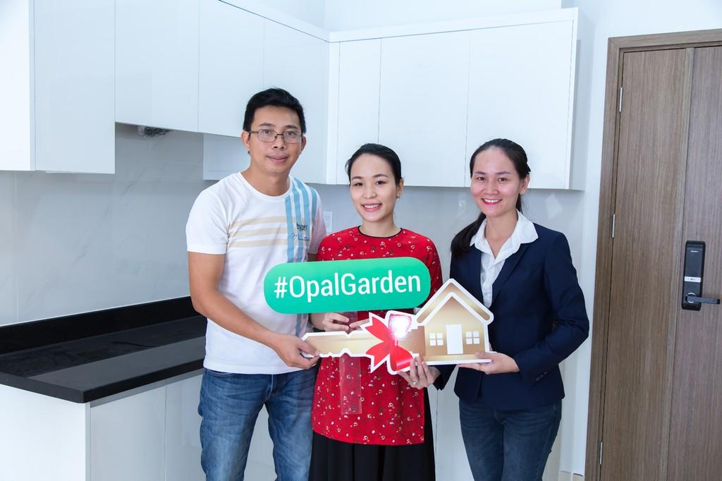 Đất Xanh bàn giao nhà đúng cam kết cho khách hàng sở hữu căn hộ Opal Garden - ảnh 3